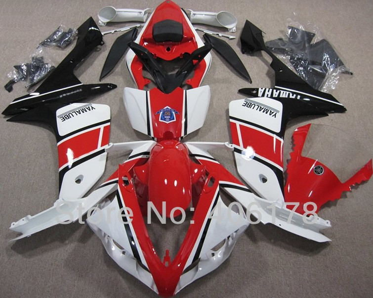 Hot Sales,Yzf-R1 2007 2008 fairing For Yamaha Yzf R1 07 08 Race Bike Yamalube Bodyworks Motorcycle Fairings (Injection molding) free shipping xc3020 100pc84i new original and goods in stock