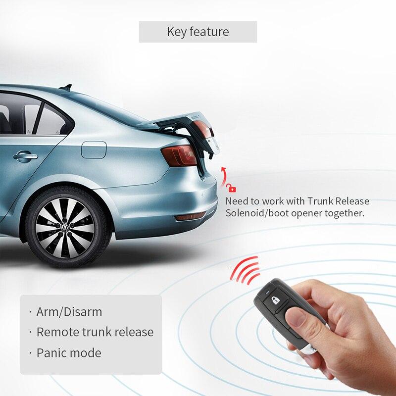 Универсальная Автосигнализация система с замками Блокировка центральной двери ключи для удаленной блокировки автомобиля Дистанционное открытие багажника