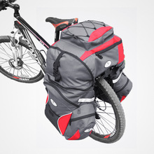 65L Cycling Bicycle Bag Bike Double Side Rear Rack Tail Seat Trunk Bag Pannier 1605 Cycling Bicycle Bag Pannier
