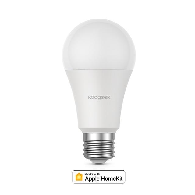 Koogeek Smart Light Dimmable White LED WiFi Light Bulb Smart Home Voice/Remote Control For Alexa/Apple HomeKit/Google Assistant