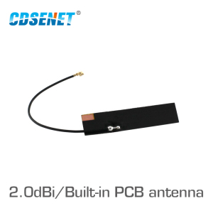 Image 1 - TX915 FPC 4510 868MHz 915MHz WIFI Antenna PCB High Gain 2.0dBi Omi Directional Soft PCB Antenna IPEX Connector