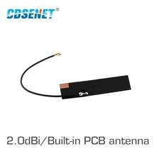 TX915 FPC 4510 868MHz 915MHz WIFI Antenne PCB High Gain 2.0dBi Omi Directional Weichen PCB Antenne IPEX Stecker