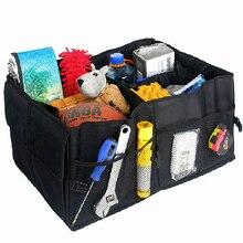 Авто автомобиля поставок назад складной ящик для хранения нескольких-Применение инструменты органайзер для автомобиля Портативный Многофункциональный Складной Прочные мешки для хранения