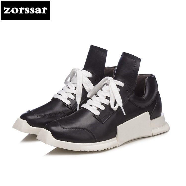 {Zorssar} 2018 Fashion Classic Spring Autumn Flats lace up Women Sneakers Platform Shoes Flat Casual Shoes Women Sport Shoes instantarts casual teen girls flats shoes appaloosa horse flower pattern women lace up sneakers fashion comfort mesh flat shoes