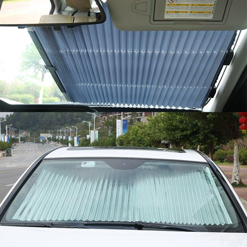Silver Intro-Tech HD-77 Custom Fit Windshield Sunshade for Select Honda Ridgeline Models