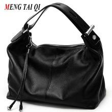 Bolsa de lujo de cuero genuino mujeres de los bolsos del diseñador mujeres de hombro mensajero bolsas de asa superior bolsa bolsas de la nueva manera de la vendimia 4