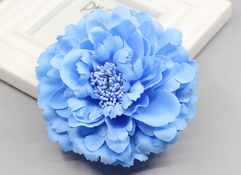 Hair accessory fabric peony big flower corsage brooch child full dress work wear hat flower wedding party Hair Clip Bridal