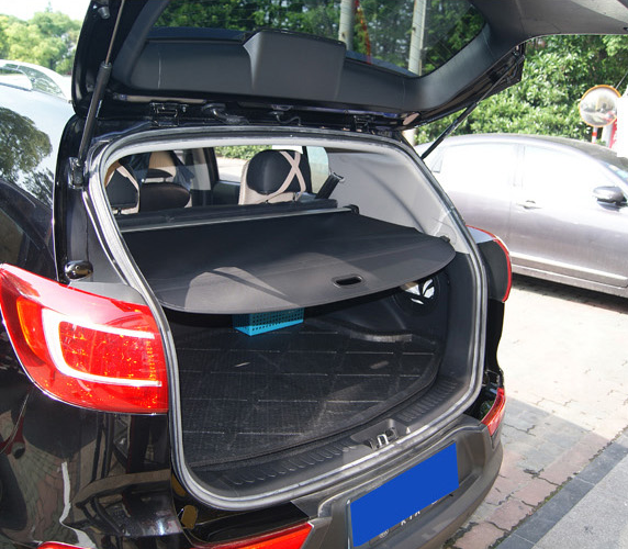 Car Styling Auto Retractable Rear Trunk Security Cargo Cover Security Shield For Kia Sportage 2010 2011 2012 2013 2014 2015 все цены