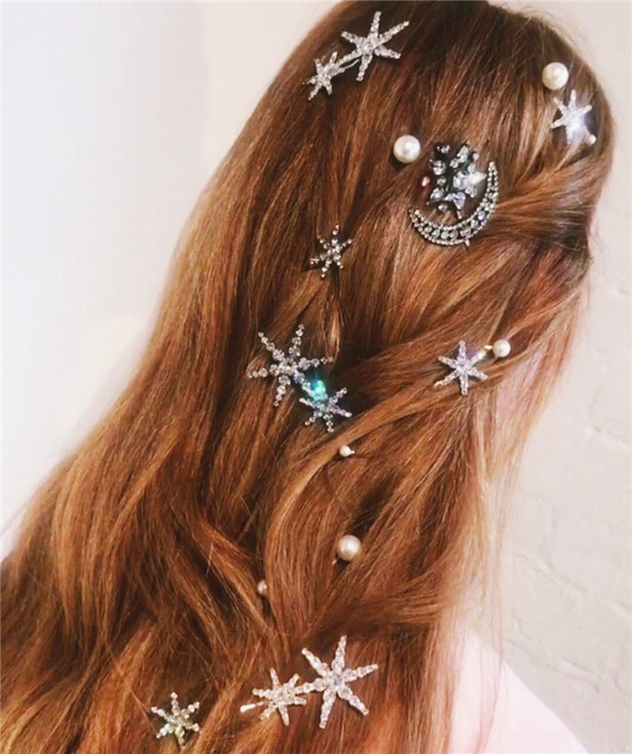 Details about  /Cute New Headwear Velvet Women Girls BB Hairgrip Barrettes Hair Clips Hairpins