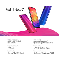 Globalna wersja Xiaomi Redmi Note 7 4GB 64GB smartfon Snapdragon 660 Octa rdzeń 4000mAh 2340x1080 48MP podwójny aparat fotograficzny telefon komórkowy 5