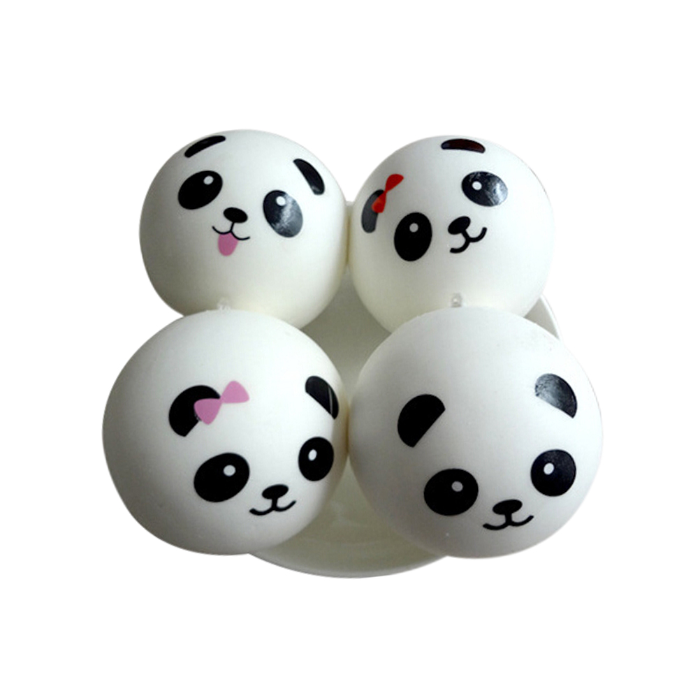 7cm Key/bag Strap Pendant Squishes Bag Accessories Jumbo Panda Squishy Charms Kawaii Buns Bread Cell Phone Luggage & Bags
