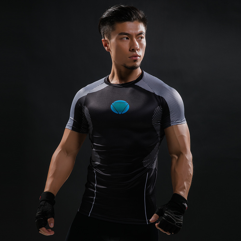 Punisher 3D Printed T-shirts Men Compression Shirts Long Sleeve Cosplay Costume crossfit fitness Clothing Tops Male Black Friday 78
