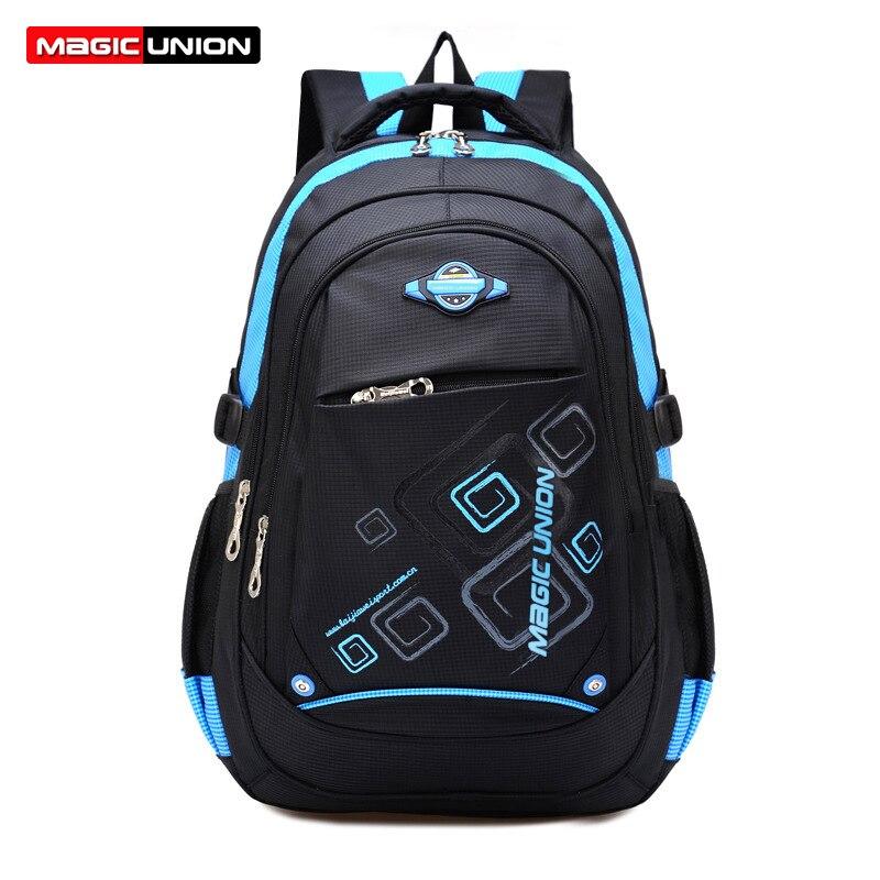 MAGIC UNION Kids Bag sac copii de școală casual pentru băieți - Rucsacuri
