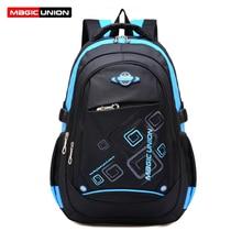 MAGIC UNION Kids Bag Children Casual School Bags for Girls Boys Brand High Quality Print Backpack School Bags mochila infantil