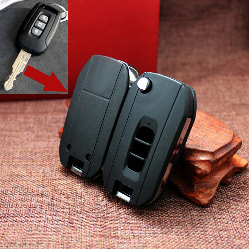 3 Buttons Modified Flip Key Shell For Chevrolet Captiva