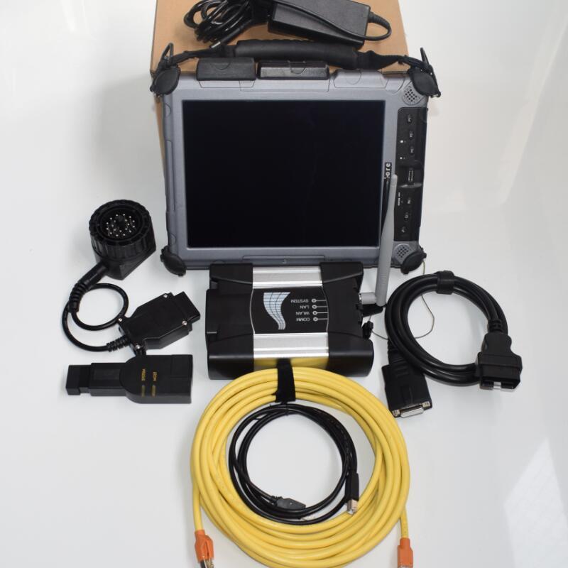 Newest V2018.05 SSD WIFI icom next for BMW Auto Diagnostic & Programming scanner for Bmw Icom software with ix104 tablet
