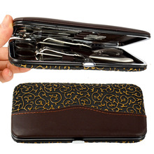 12 in1 Pedicure / Manicure Set Nail Clippers Cuticle Clippers Grooming Kit Case
