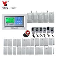 Freeshippin DHL New Wireless GSM Alarm System Touch Screen Intelligent Burglar Security Home Alarm System