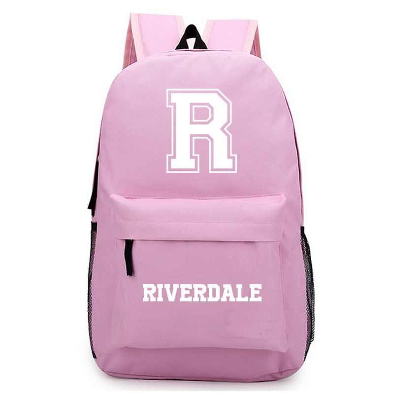 SWYIVY Riverdale Women Backpack Schoolbag High Quality Laptop Backpack Male