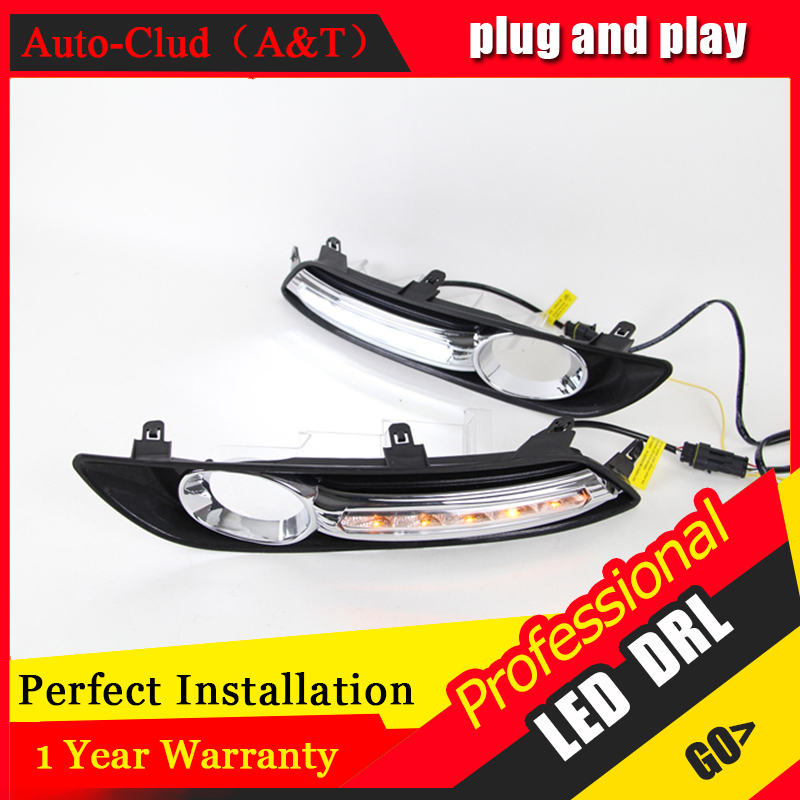 Auto Clud car styling For Nissan sylphy LED DRL For sylphy led fog lamps daytime running light High brightness guide LED DRL A s for nissan primera estate wp12 2002 2015 car styling led light emitting diodes drl fog lamps