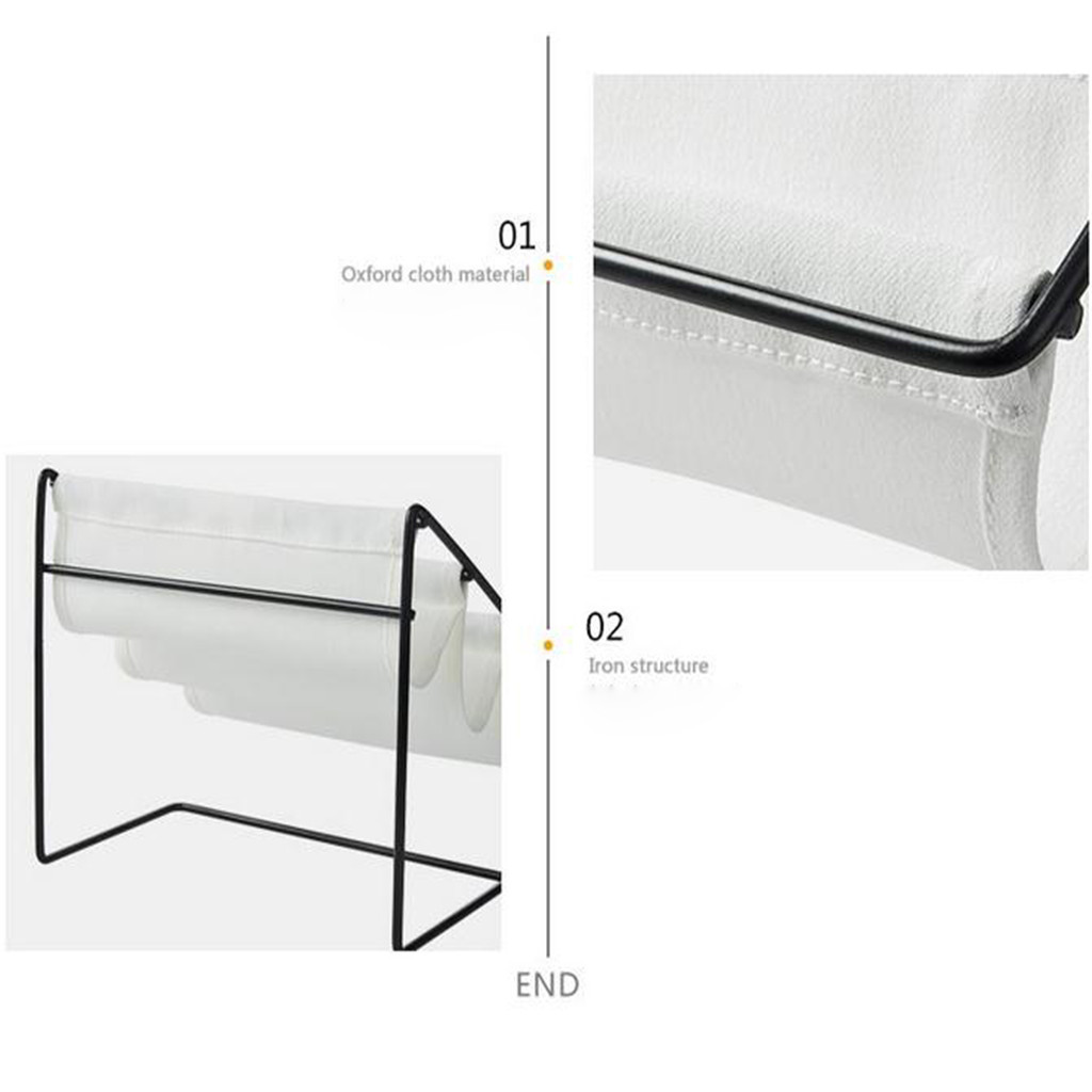 Image 3 - Desktop Wrought Iron Glasses Frame Household Debris Stationery Storage Rack Wall Housekeeper Accessory Hanging Pipe Hooks Box-in Storage Holders & Racks from Home & Garden