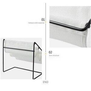 Image 3 - Desktop Wrought Iron Glasses Frame Household Debris Stationery Storage Rack Wall Housekeeper Accessory Hanging Pipe Hooks Box