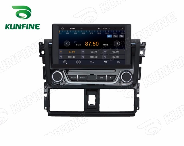 Quad Core HD Screen Android 4.4 Car DVD GPS Navigation Player Car Stereo for TOYOTA Yaris 2014 Radio Wifi/3G Bluetooth