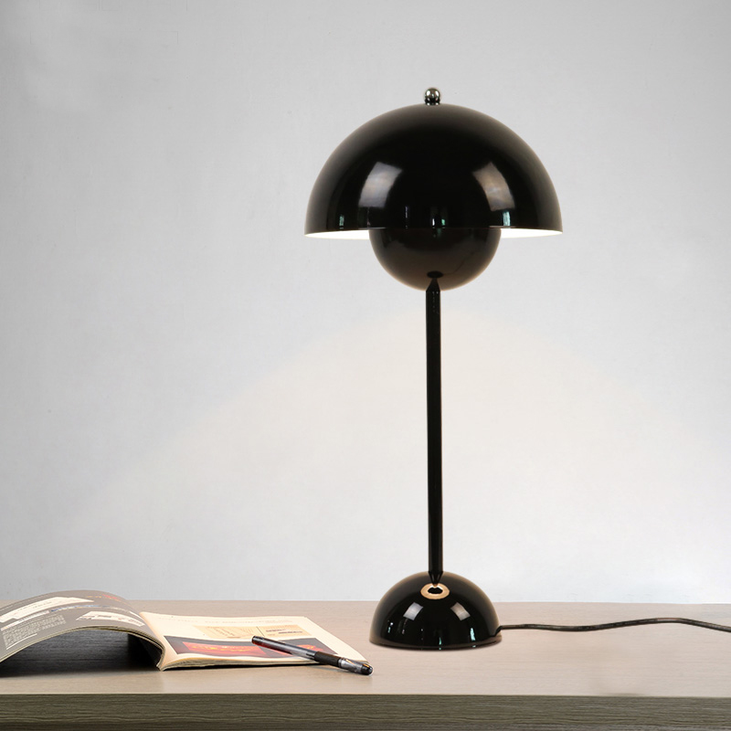 Home Lighting Red Blue Yellow Hat Table Lamps Personality Living Room  Dining Room Study Club Bar Cafe Single Table Light ZA