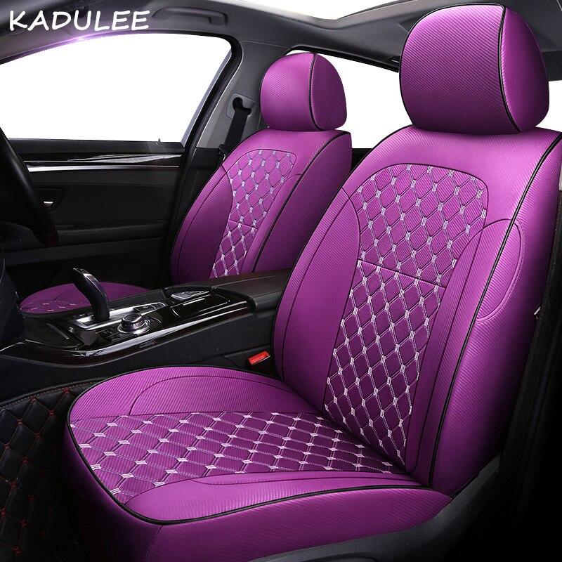 KADULEE Customized car seat covers for HYUNDAI Sonata Elantra Accent Tucson i30 ix35 ix25 LAFESTA ENCINO