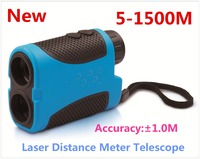 Free Shipping 1500M Laser Rangefinder Telescope Distance Speed Measurement