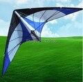O Envio gratuito de Diversão Ao Ar Livre Esportes Stunt Kite Poder Profissional Haste De Carbono Com ferramentas de Vôo