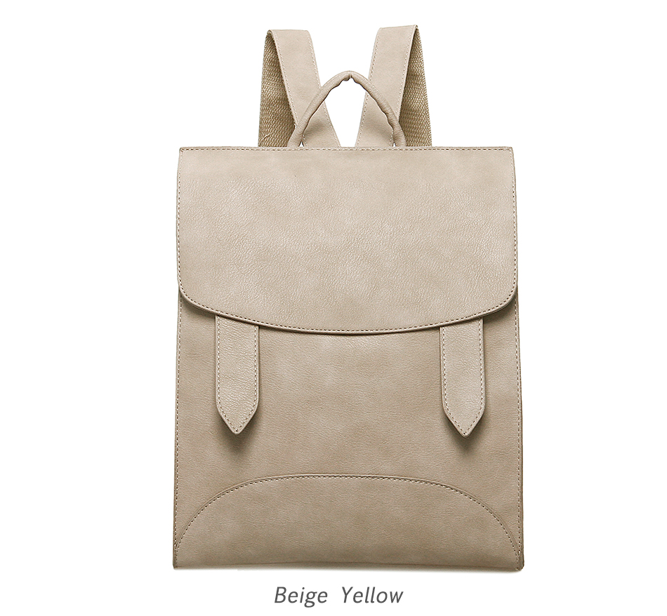 High Quality Women Backpack Leather Bags New Arrival 17 Backpacks For Teenage Girls Fashion Bag Woman Back Pack Bolsa Mochila 16