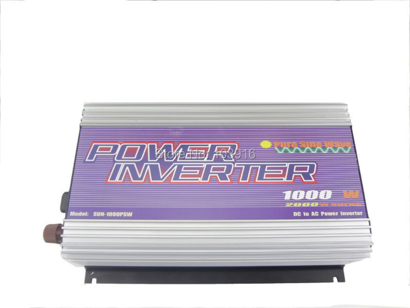 цена на 1000W Inverter PURE SINE WAVE 12V/120V/60Hz, for solar system, for photovoltaic (MS-PSW-1000-12A)