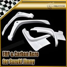 ЭПР Автомобиля стайлинг Для Suzuki Jimny FRP Стекловолокна Автомобиль Стиль Fender Набор 4 шт.