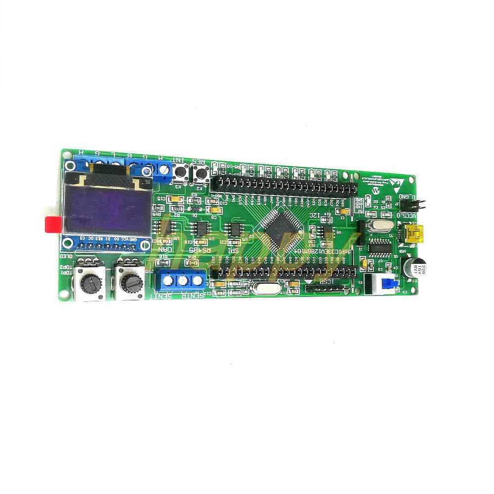 DsPIC development board dsPIC33EV series development board Microchip  dsPIC33EV256GM104
