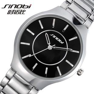 Prix pour 2015 marque hommes garçon militaire acier noir montre - bracelet japon Quartz horloge hommes montre - bracelet qualité cadeau Relogio Masculino