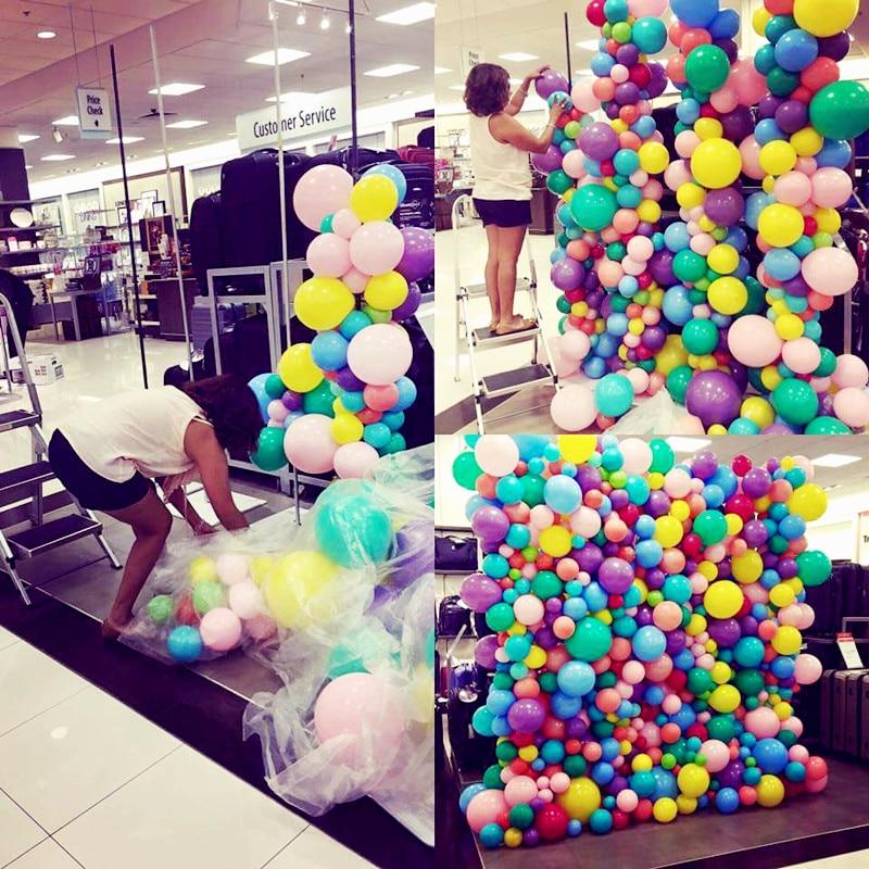 50 Pcs Lot Latex Balloons Birthday Party Balloon GoldBlackWhiteRedPink PurpleBlue Balls Wedding Decorations In Ballons Accessories