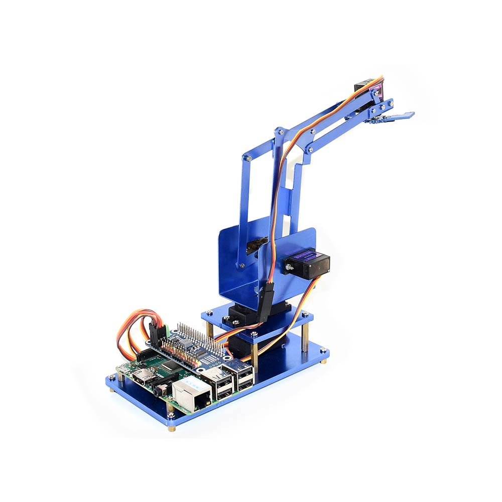 4-DOF Metal Robot Arm Kit for BBC Micro:bit Bluetooth Remote Control