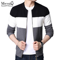 Mwxsd New Arrival Thick Sweater Men Famous Brand Clothing Men Cardigans Male Casual Zipper Sweaters Male