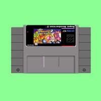 Neue ankunft 16bit super game card Super Bomberman 2