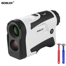 BOBLOV 600 Golf Laser Rangefinder Range Finder Monocular Outdoor Distance Meter Tester Hunting Measure Telescope
