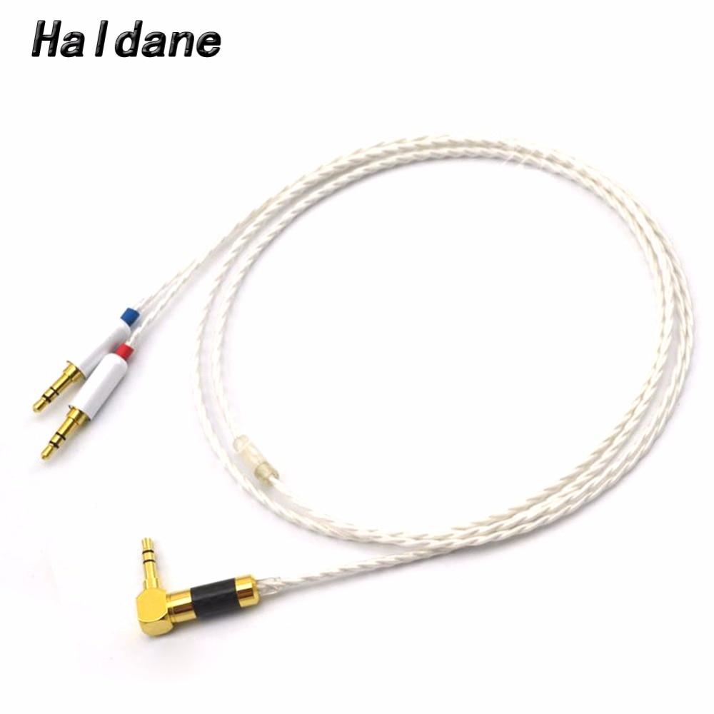 Free Shipping Haldane 1.2m DIY Headphone Upgrade Audio Cable For SONY MDR-Z7 Z7M2 MDR-Z1R Headphones