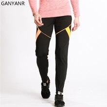 GANYANR Running Pants Men Jogging Leggings Basketball Training Yoga Gym Fitness Athletic Trousers Football Sweatpants Elastic