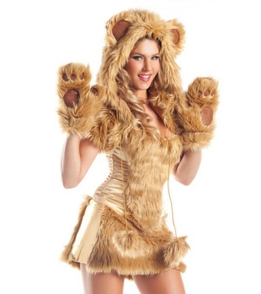 New Fashions Free Shipping Fur Black Halloween Woman Bear Costume Adult Animal Cosplay on Aliexpress.com | Alibaba Group  sc 1 st  AliExpress.com & New Fashions Free Shipping Fur Black Halloween Woman Bear Costume ...