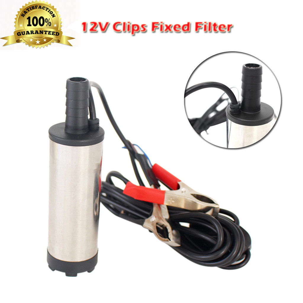 Fuel pump 12V DC 38mm Silver Car Electric Submersible Water Oil Fuel Pump 8700r/min Stainless steel dropship m20Fuel pump 12V DC 38mm Silver Car Electric Submersible Water Oil Fuel Pump 8700r/min Stainless steel dropship m20