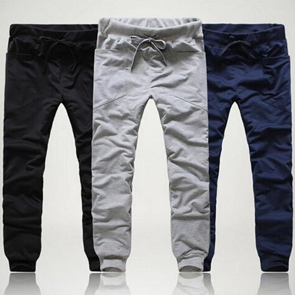 634e9974aab 2016 Brand New Fashion Men Pants Slim Fit Pants cotton Leisure Sweatpants  Men s Trousers Pants