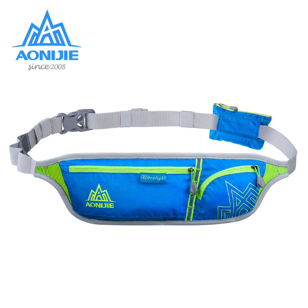 AONIJIE E916 Jogging Waist Bag Fanny Pack Travel Pocket Key Wallet Pouch Cell Phone Holder Chest Cross-body Bag Running Belt
