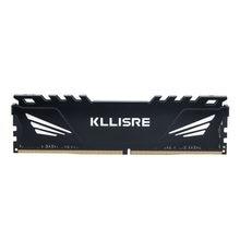 Kllisre-Memoria para ordenador de escritorio con disipador de calor, disco de memoria de computador de mesa DDR3 DDR4 con capacidad de 4GB 8GB 16GB 1866 1600 2400 2666 2133, 3 ram pc dimm para todas las placas base