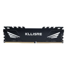 Kllisre DDR3 DDR4 4GB 8GB 16GB 1866 1600 2400 2666 2133 ذاكرة عشوائيّة للحاسوب المكتبي مع بالوعة الحرارة DDR 3 ram pc dimm لجميع اللوحات الأم