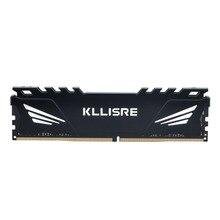 Kllisre pc DDR3 DDR4, 4 go, 8 go, 16 go, 1866, 1600, 2400, 2666, 2133, avec dissipateur thermique, 3 ram, dimm, pour toutes les cartes mères